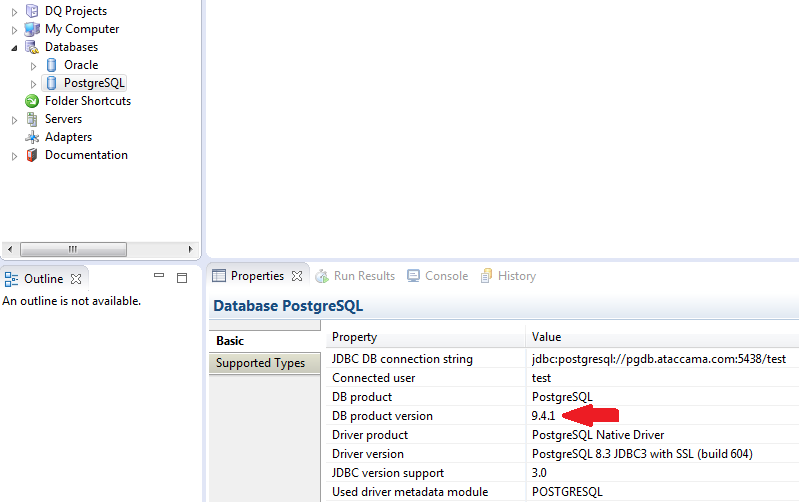 java io EOFException with PostgreSQL Database - Support