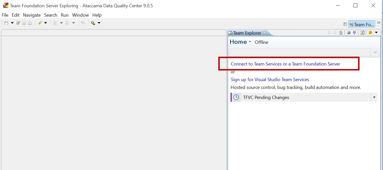 How to Install Microsoft TFS in DQC - Support Knowledge Base